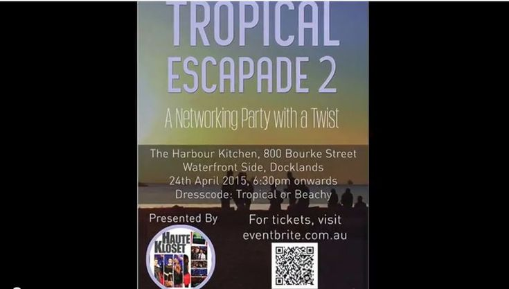 Tropical Escapade 2 - A Network Party with a Twist