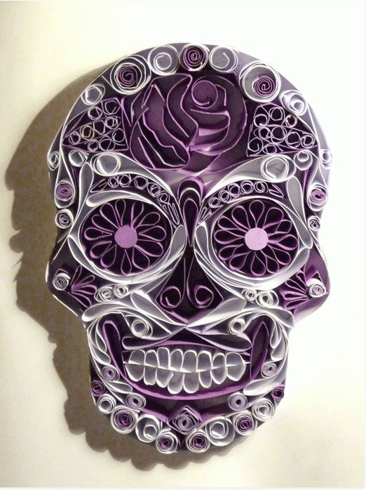 Paper Quilling - Inked Magazine Soon cool!!!! I'd hang this as art in the house!