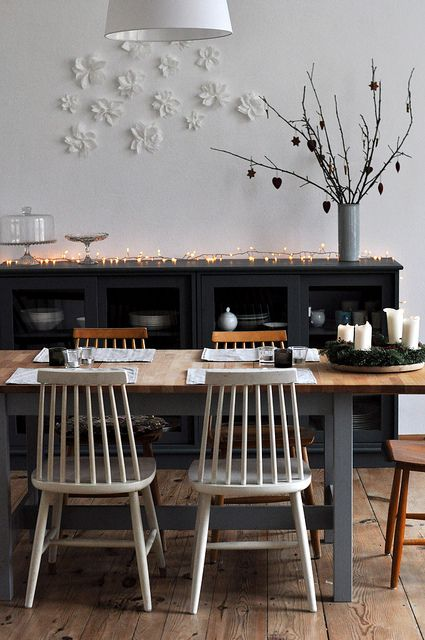 Dining room by Lillian Day on Flickr.