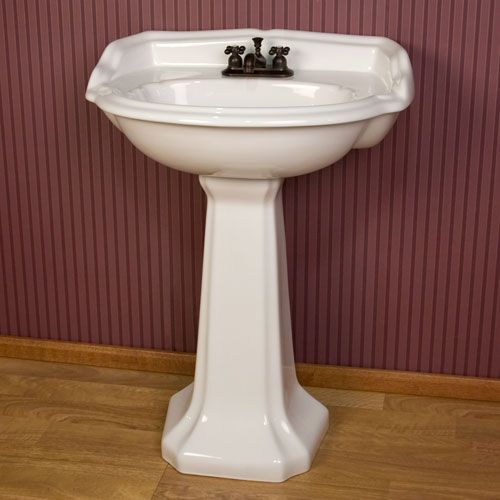bathroom pedestal sinks ideas kendra pedestal sink with 4 quot centers downstairs bath 15991