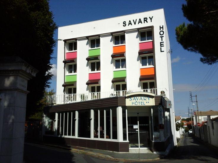 Hôtel Savary - La Rochelle #france #tourisme #voyage