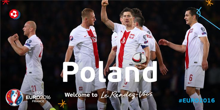 See you in France, Poland! #EURO2016 #LeRendezVous