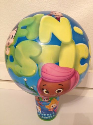 bubble guppies nickelodeon bouncy ball play toy outside gil molly oona goby