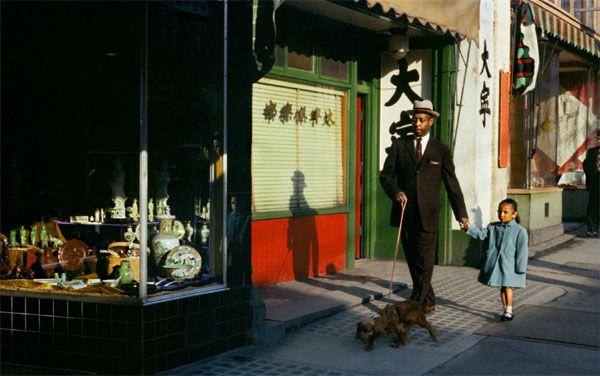 black man pender 1958 by Fred Herzog