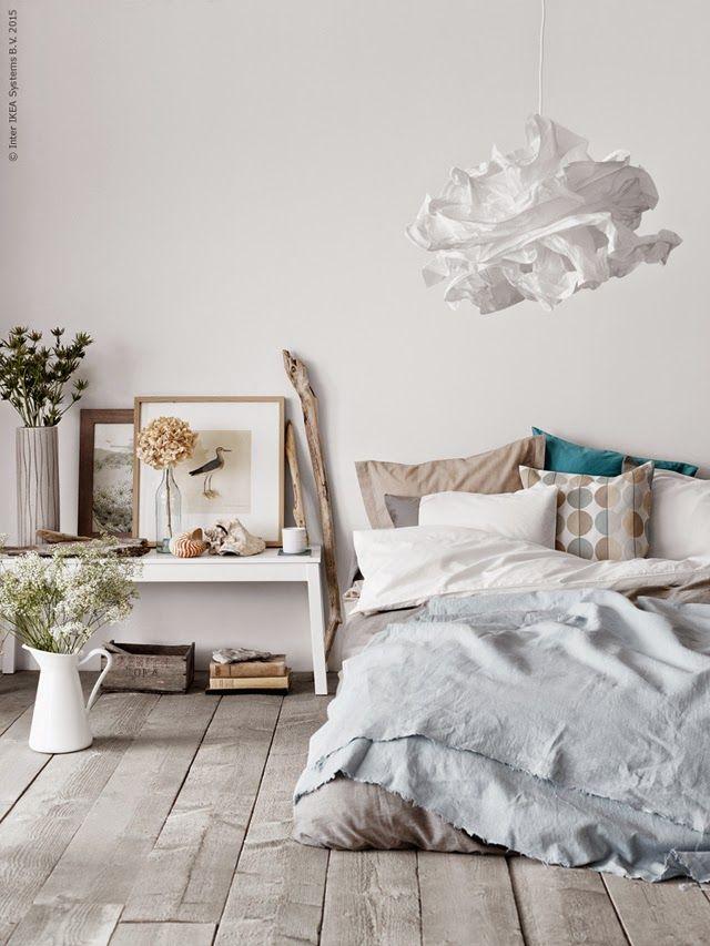 Stranded Ikea bedroom