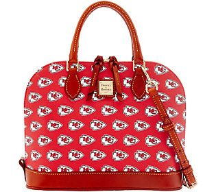Dooney & Bourke NFL Chiefs Zip Zip Satchel
