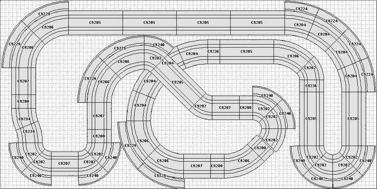 Would love some help for a new layout 4' X 8' 1:32 Scalextric - Tracks & Scenery - SlotForum