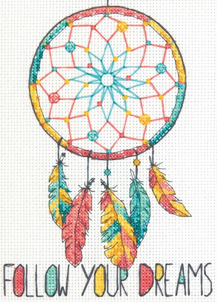 Dimensions Mini - Dreamcatcher - CrossStitchWorld