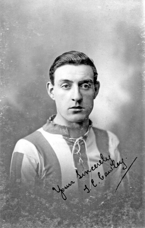 Tom E. Cawley, Local footballer who played for Sheffield Wednesday and Sheffield United