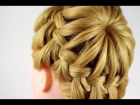 ▶ Crown Braid Video Tutorial - YouTube  Since I do not speak Russian I turned off the volume to prevent a headache. :)  Lovely braid!