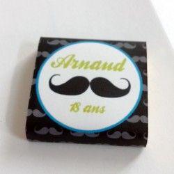Chocolats personnalisés Moustache
