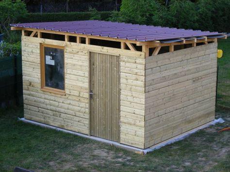 20 best Abri de jardin - Serre - Cabane en bois images on Pinterest - construire une cabane de jardin en bois