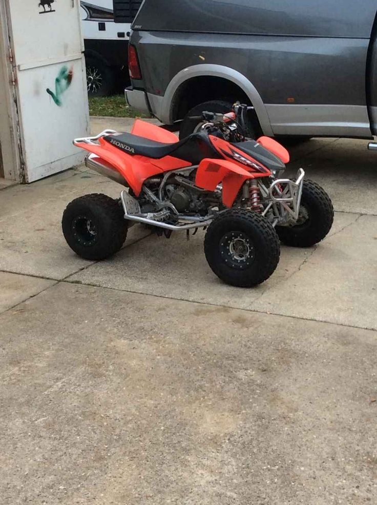 Used 2006 Honda TRX 450ER ATVs For Sale in New Jersey. Full skid plates, HRC kit, low hours, original owner, garage kept and clear title. Also has moose nerf bars, hiper carbon fiber bead lock rims, aluminum bumper and grab bar. I have some of the original parts as well. I'm open to realistic offers or trade for a nice golf car. (609) six 7 five 1five 21