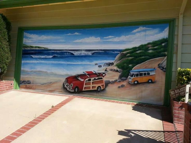 17 Best Images About Garage Door Art On Pinterest