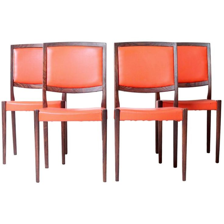 Swedish Rosewood Dining Chairs By Svegards In 2019