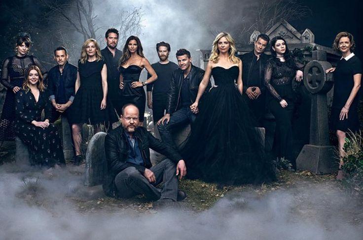 20 лет спустя: актеры сериала «Баффи – истребительница вампиров» в съемке Entertainment Weekly
