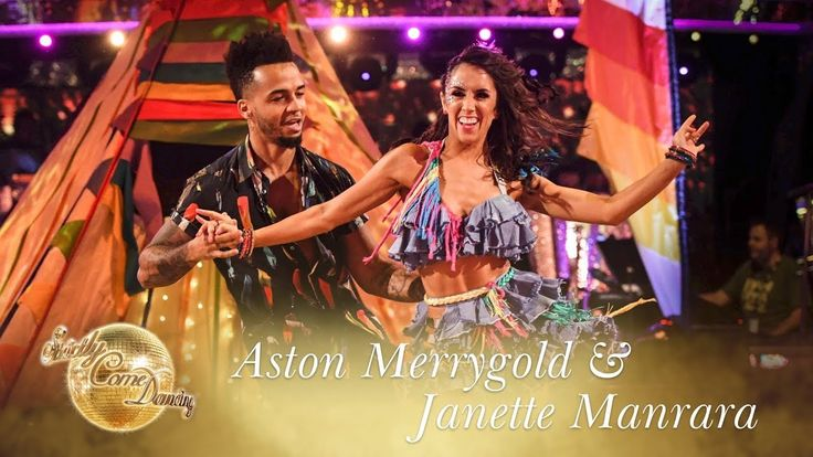 Aston Merrygold and Janette Manrara Salsa to 'Despacito' - Strictly Come...