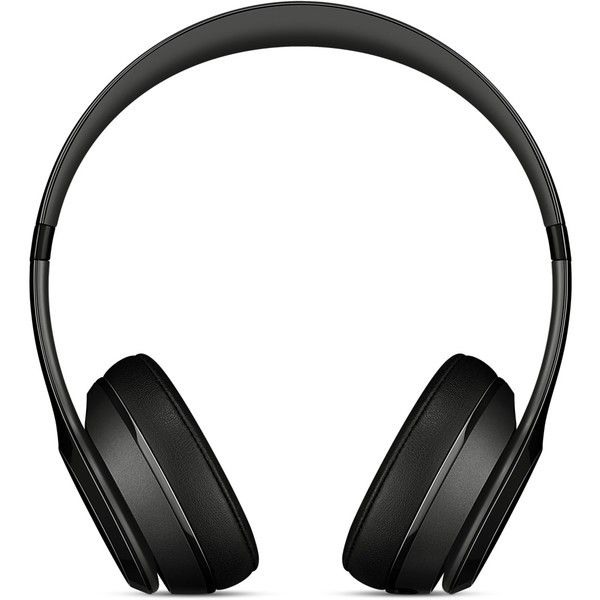 Beats Solo2 On-Ear Headphones Gloss Black ($200) ❤ liked on Polyvore featuring accessories, tech accessories, apple iphone headphones, ipod headphones and iphone headphones