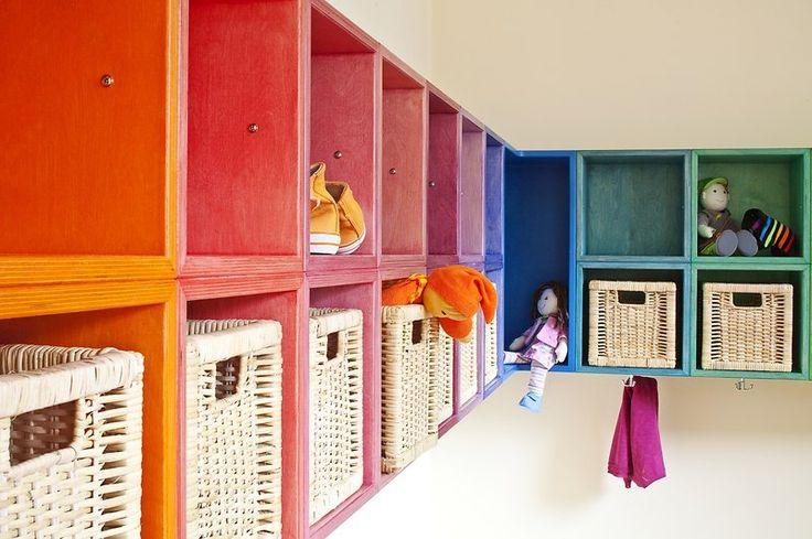Innenarchitektin Simone Hörr in Zusammenarbeit mit Andrea Girgzdies vom Caparol FarbDesignStudio: DAW-Kinderkrippe (0-3)