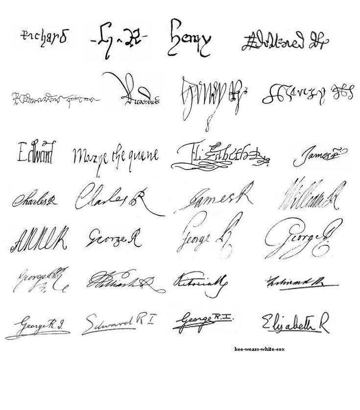 60 best Groovey signatures images on Pinterest