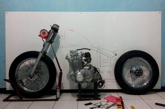 Victorious Custom Works: Suzuki GSX500 Chopper