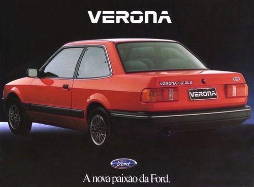 FORD VERONA GLX 1990 @nivea__oliveira olha como parece com aquele @apolo da Volkswagen