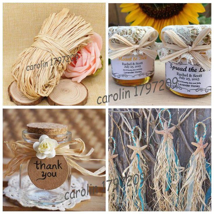Crafts For Weddings Rustic: 25+ Best Raffia Crafts Ideas On Pinterest