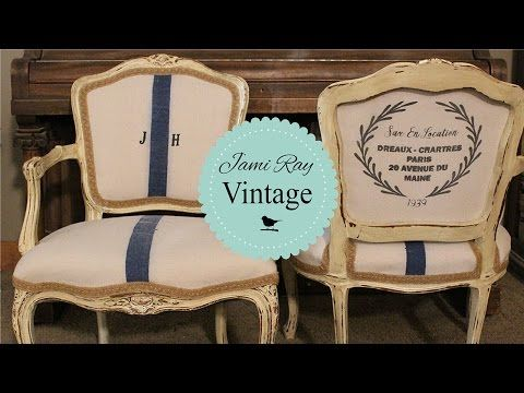 How to Upholster a Queen Anne Chair - YouTube