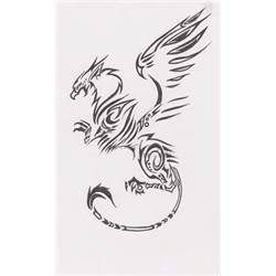 Tribal Griffin Tattoo Design Picture #11318 900x1503