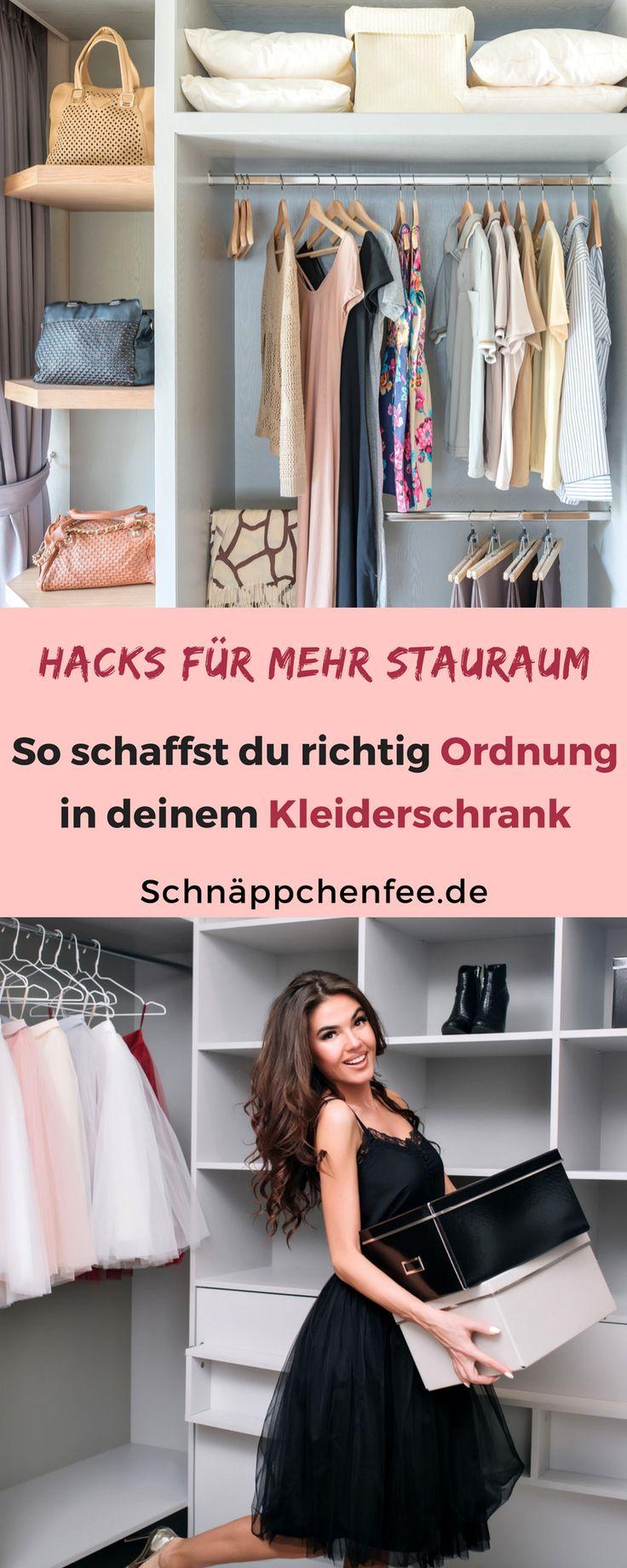 Ordnung im Kleiderschrank: Mit diesen Tipps klappt's!