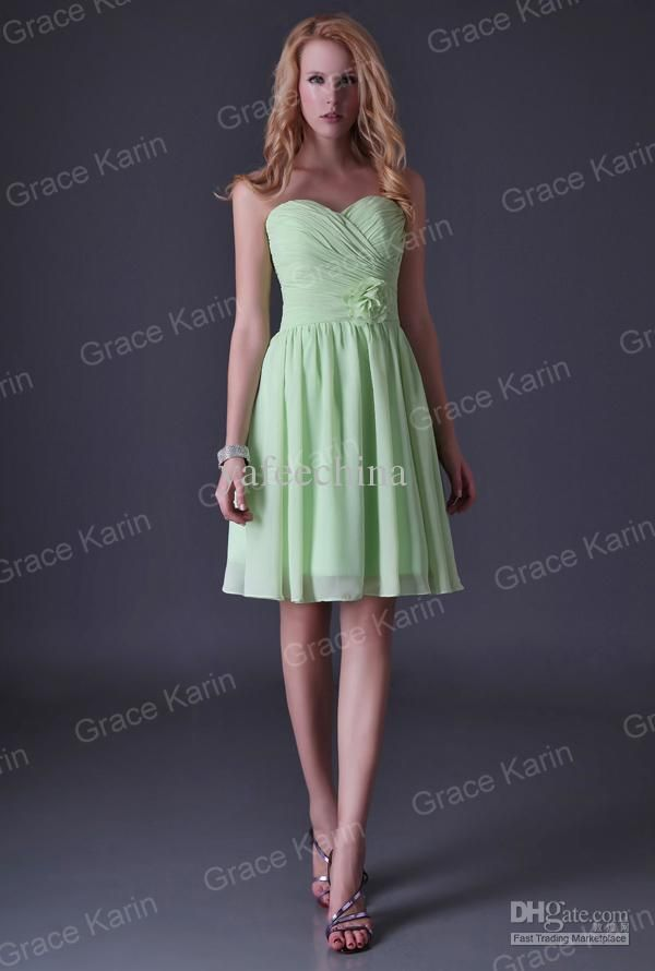 Wholesale Occasion Dresses - Buy Grace Karin Strapless Knee Length Special Occasion Dress Junior Cocktail Dresses for Bridesmaid & Party 8 Size CL3473, $33.99 | DHgate