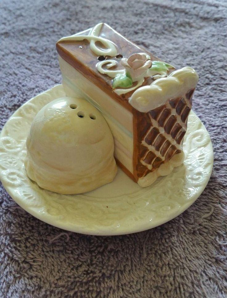 Cake and Ice Cream Salt and Pepper Shakers | eBay