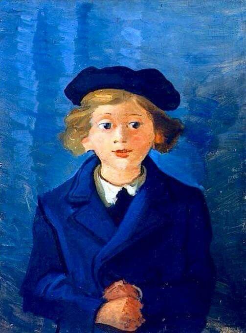 André derain (1880-1954)  Boby  con boina
