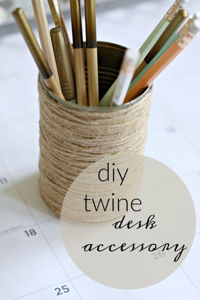 Easy DIY Desk Accessory | Love of Home