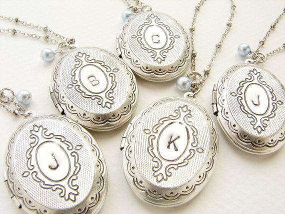 Bruidsmeisje sieraden Personalzied eerste ketting door soradesigns