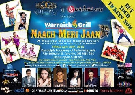 Warraich Grill NAACH MERI JAAN – Bollywood Dance Competition Toronto