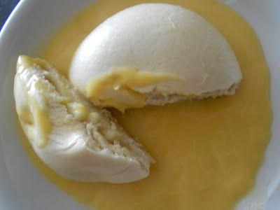 Verboten gut ⚠: Dampfnudeln mit Apfelfüllung & Vanillesauce