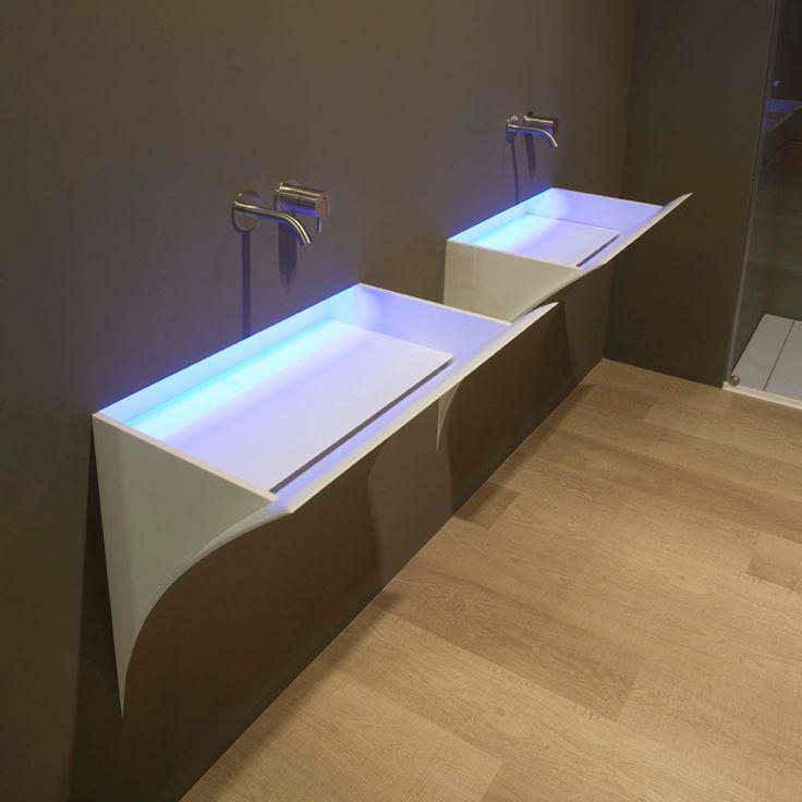 Strappo by Antonio Lupi: il lavabo si fonde con la superficie