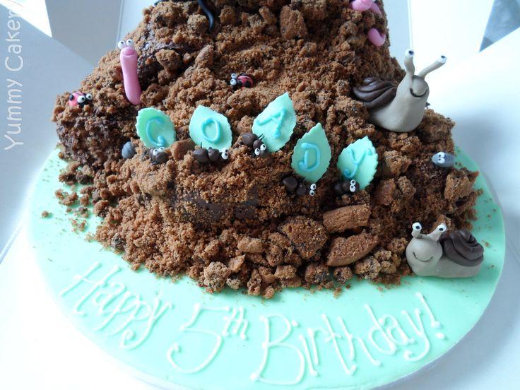 Soil and bug cake!