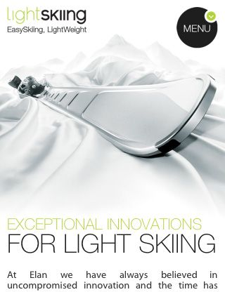 Elan Skis via http://graphicdesignjunction.com