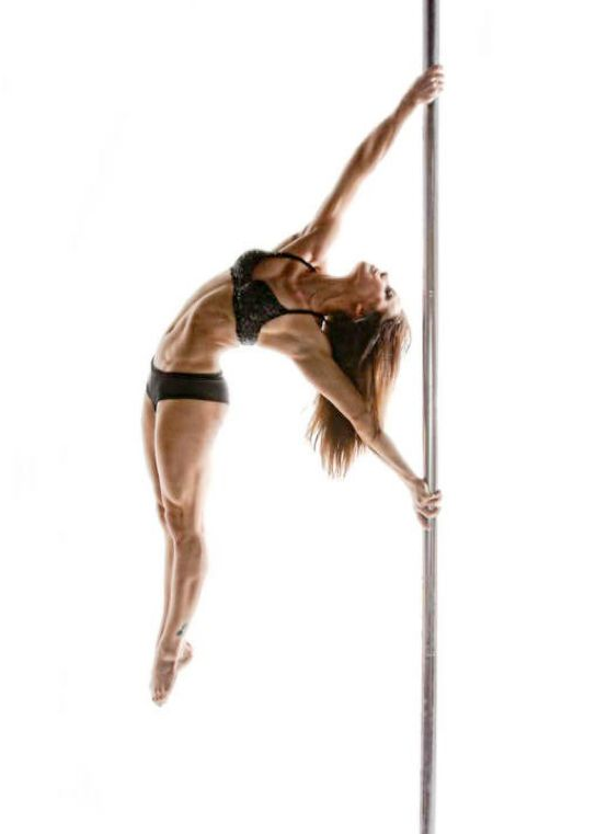Jenyne Butterfly- pole fitness is the best fitness!
