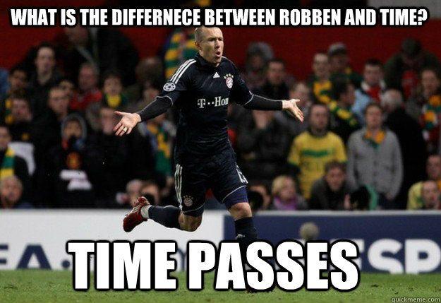 Football joke, Arjen Robben