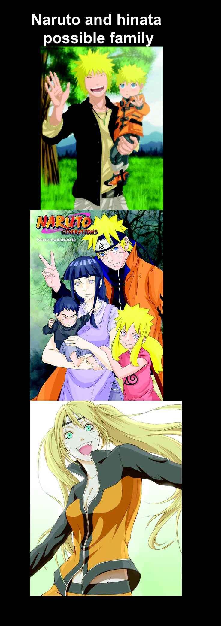 #naruto and #hinata possible family what do you fans think about it out there. We are going to be talking about this on our #anime radio show http://acfradio.com