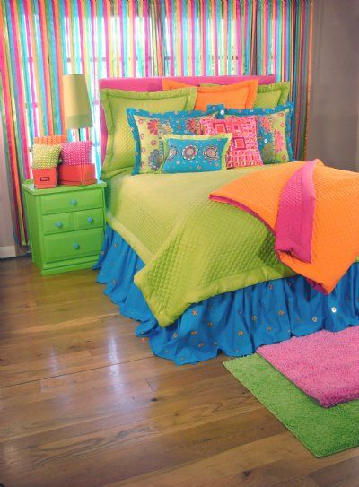 Tween/Teen Bedding   Teen Dream Bedding Collection - Sweet and Sour Kids - the colors she wants