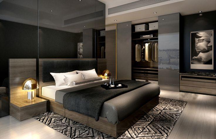 L2ds – Lumsden Leung design studio – Service Apartment Interior Design – Mocha