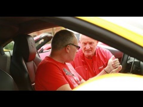 Driving a Ferrari 458 Italia, for the first time