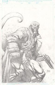 Hellboy by David Finch