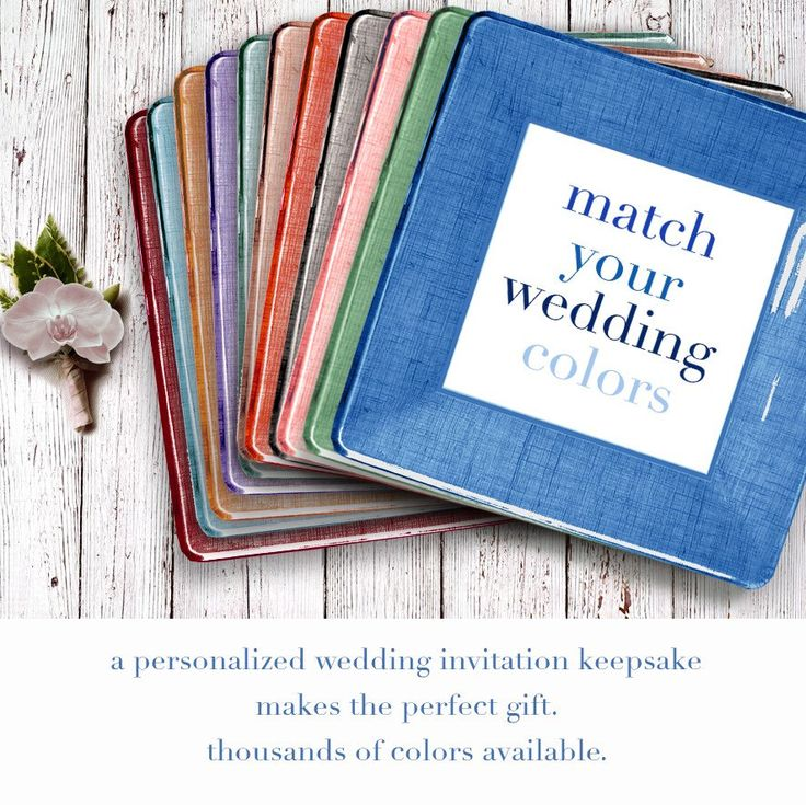 a wedding invitation keepsake makes the perfect gift.