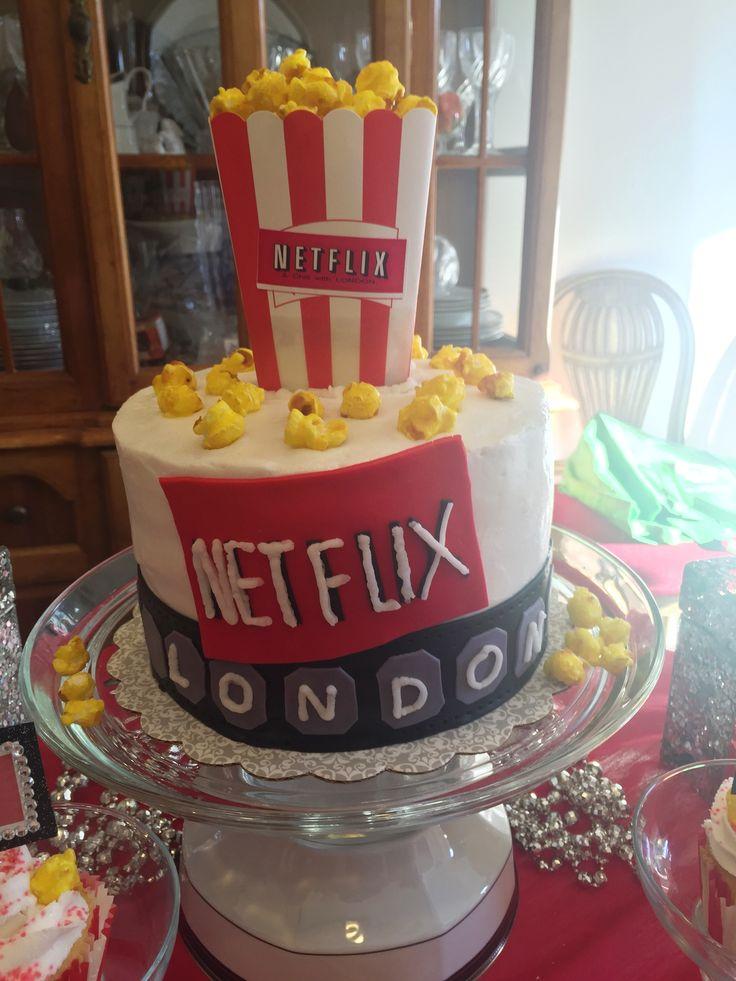 Movie Theme Birthday Cake Images