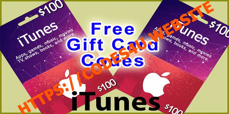 free itunes gift codes giveaway
